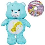 Care Bears Wish Bear 12 Inch Plush with bonus DVD