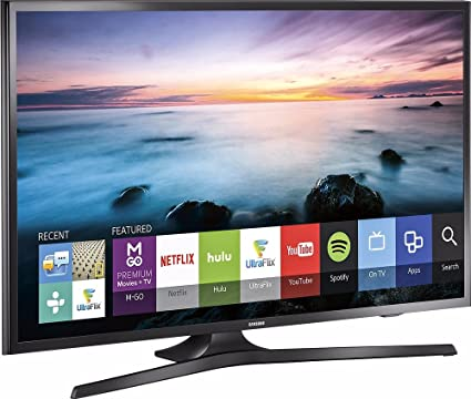 ba799bdd3 Amazon.com  Samsung UN40J5200 40-Inch 1080p Smart LED TV (Certified  Refurbished)  Electronics