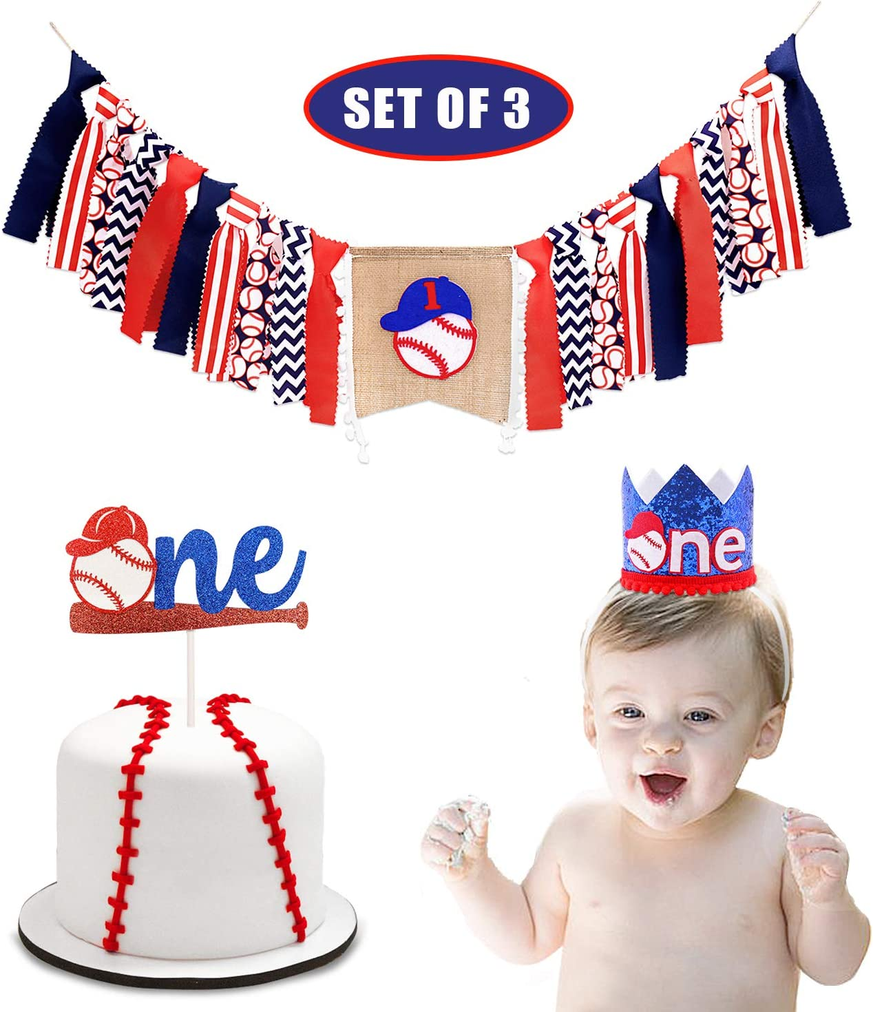Baseball Baby Boy Centerpiece w// Stand OR Cut Outs Baby Shower Cutouts Baseball