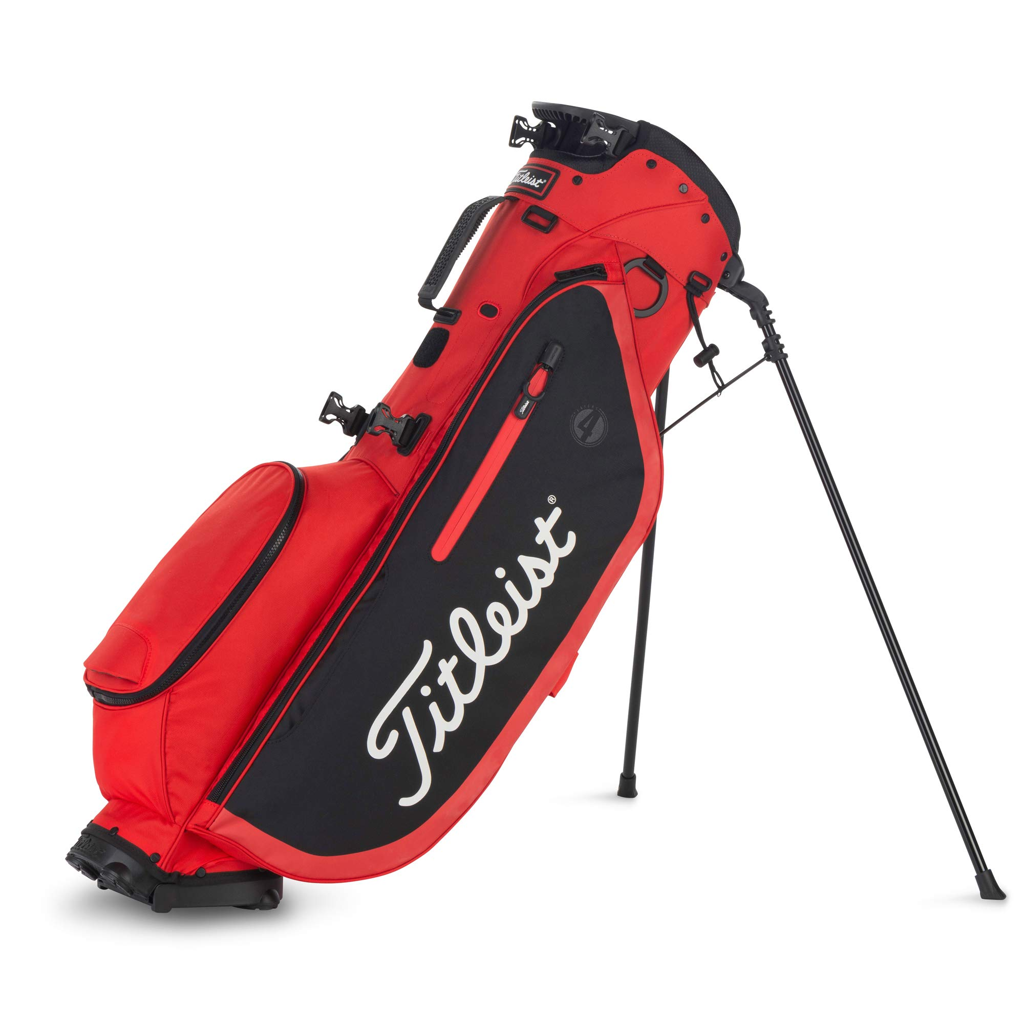 Titleist Players 4 Golf Bag Red / Black by Titleist