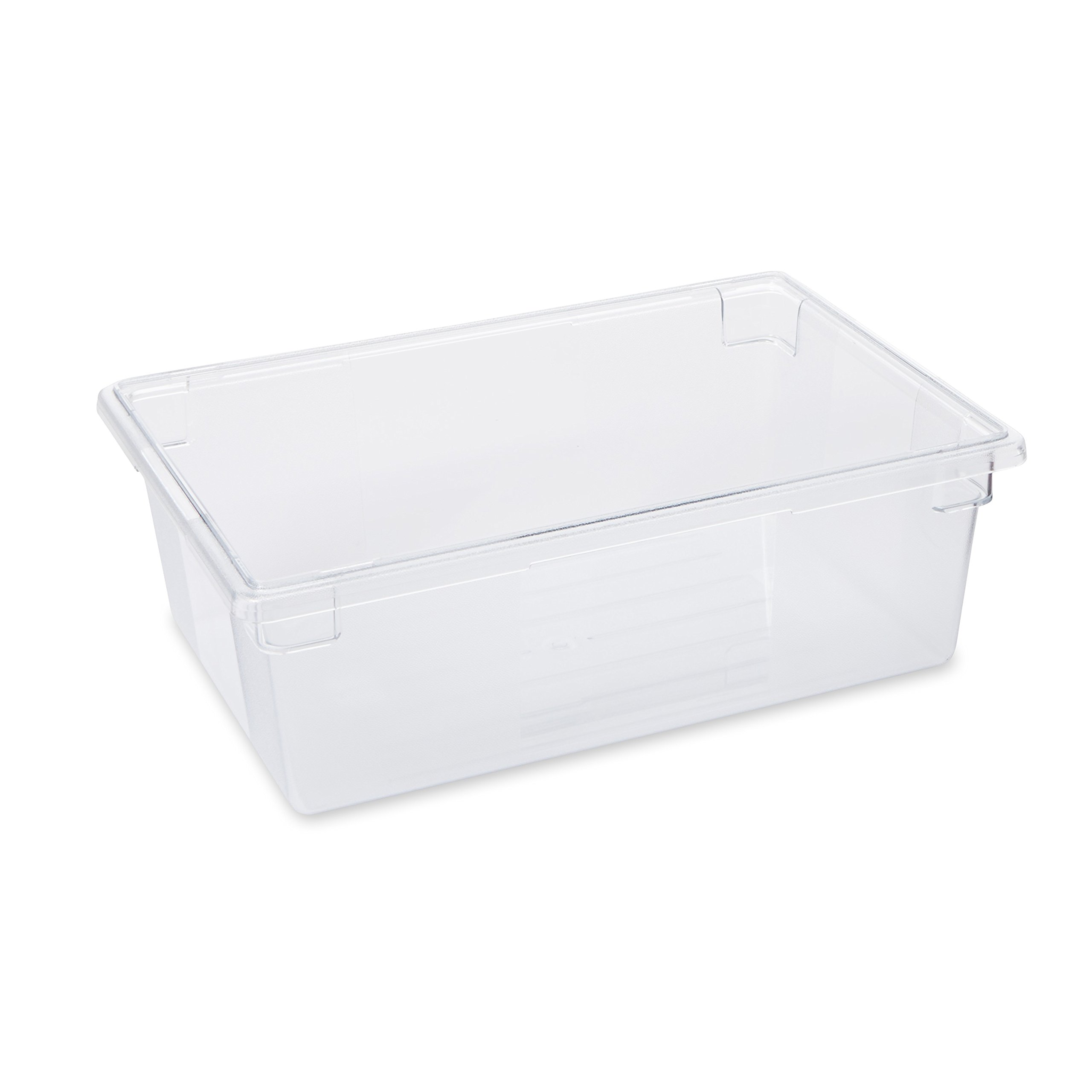 Rubbermaid Commercial Products FG330000CLR 12-1/2-Gallon Food/Tote Box