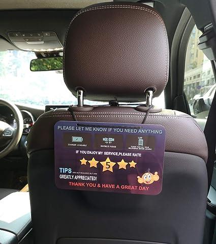 Amazon.com: Taxi Uber Lyft Driver accesorios exclusivos, 2 ...