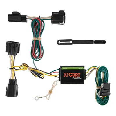CURT 55414 Vehicle-Side Custom 4-Pin Trailer Wiring Harness for Select Jeep Commander: Automotive