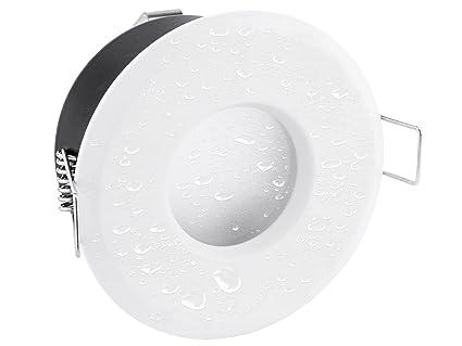 Linovum Extra Flacher Deckenspot In Rund Weiß Inkl Led