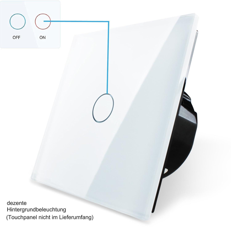 Lichtschalter einfach Ein/Aus von Garnitura®: Amazon.de: Beleuchtung