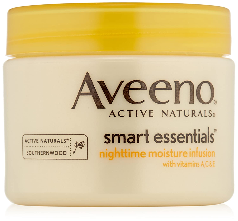Aveeno Smart Essentials Nighttime Moisture Infusion 50 ml Thailand J&J523399