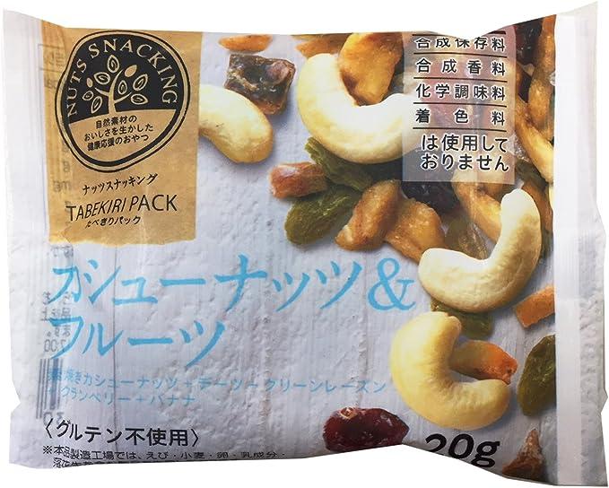 MD ナッツスナッキングTP カシューナッツ&フルーツ 20g×12袋