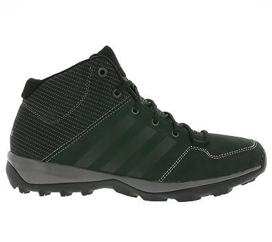 adidas Daroga Plus Mid Lea Stivali da Montagna, Uomo