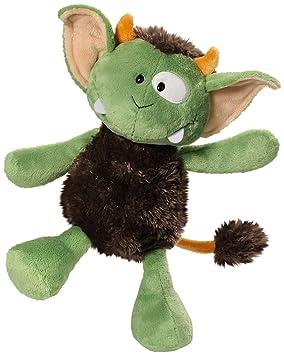 NICI - Monstruo Jipii de peluche, 35 cm, color verde y marrón (37636