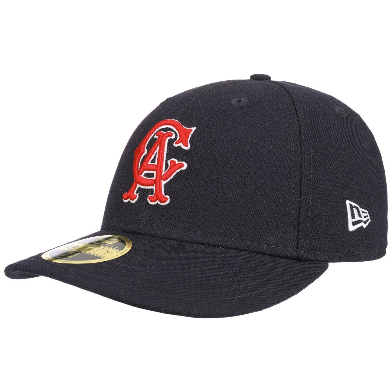 3a65b826348 New Era 59FIFTY California Angels Baseball Cap - Cooperstown Wool Fitted -  Navy 7  Amazon.co.uk  Clothing