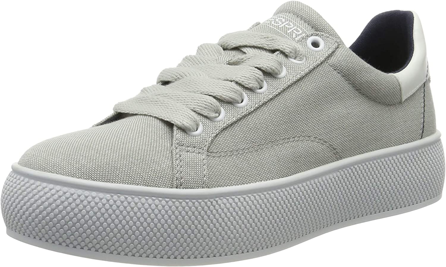 Esprit Dames Babika Co Lu Sneakers Grey Light Grey 040
