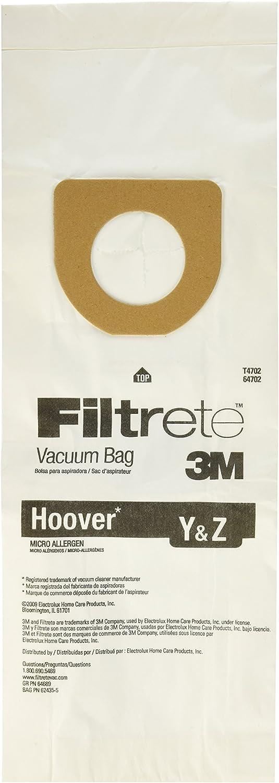 3M Filtrete Hoover Y & Z Micro Allergen Vacuum Bag