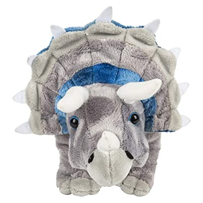 Rhode Island Novelty 13 Inch Animal Den Triceratops Plush: Toys & Games