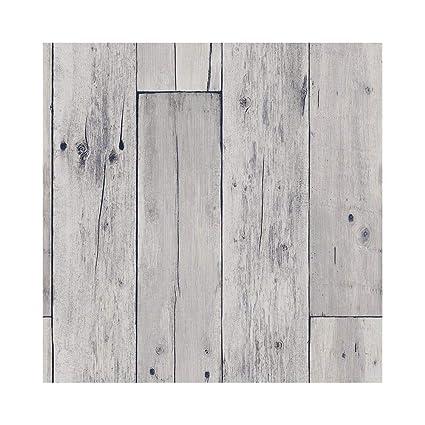 Amazon com: YJZ Do Old Wood Shiplap Wallpaper Reclaimed Wood