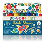 Kids Washable Dot Art Markers - New Metallic Shimmer Paint Daubers Non-Toxic For Children, Toddlers Preschool and Kindergarten Teachers The Original Dot Markers By Do A Dot Art!