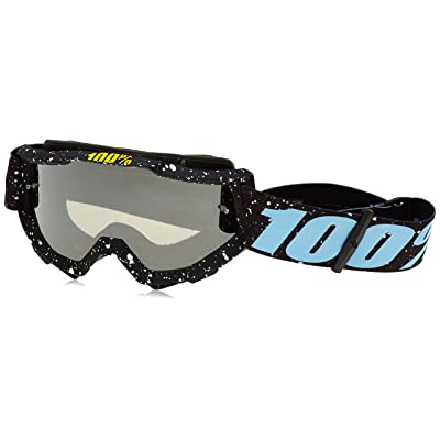 100% Accuri-Milkyway Masque de Vtt Mixte Adulte, Noir/Blanc