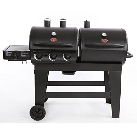 Char-Griller doble función Gas/parrilla de carbón: Amazon.es ...