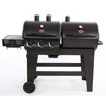 Char-Griller doble función Gas/parrilla de carbón