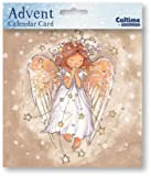 Mini Advent Calendar Card (WDM4393) Christmas Angel by Caltime