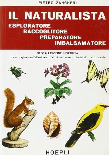 Il naturalista esploratore, raccoglitore, preparatore, imbalsamatore
