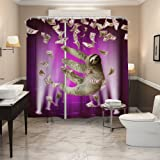 QiYI Shower Curtain Mildew Resistant,Anti Bacterial,No Any Chemical  Odor,silky