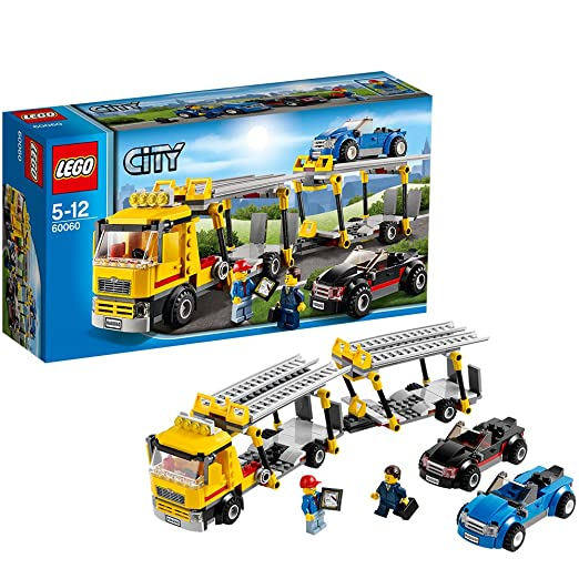 664 opinioni per LEGO City Great Vehicles 60060- Camion Autotrasportatore