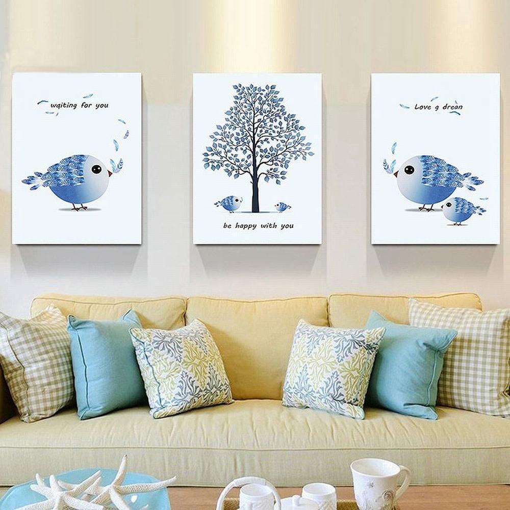 WJ Sala de Estar Pinturas Decorativas Pasillo Corredor Hotel Frameless Pinturas Mural Pinturas,UN,50  70cm