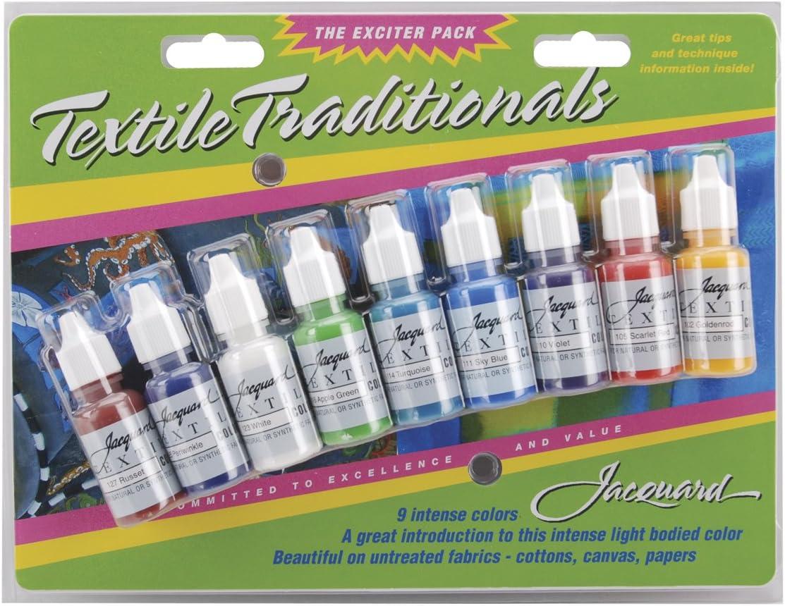 Jacquard Products Textile-Color Exciter Pack (JAC9904)