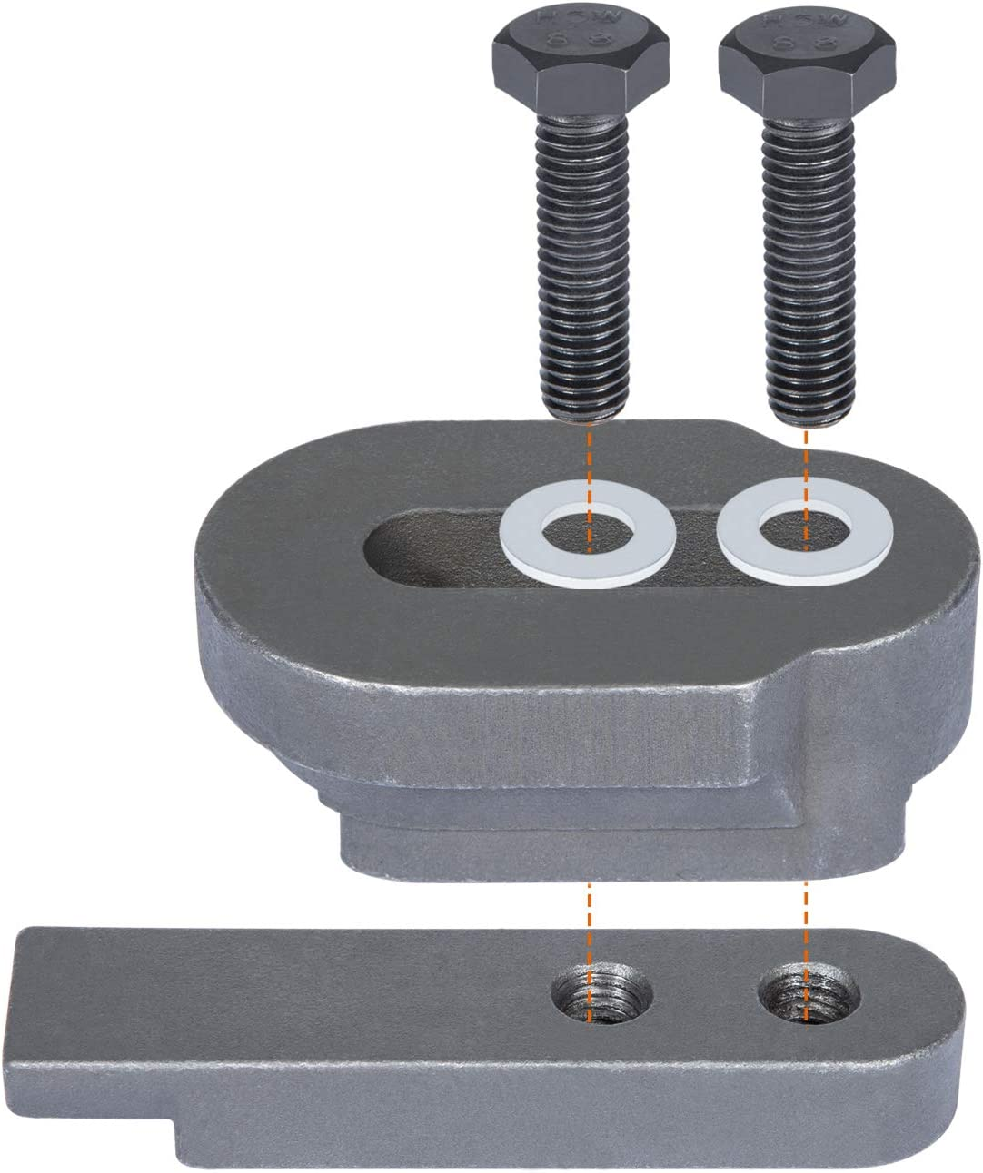 1PC Heavy Duty 2801 Flywheel Holder fits for BMW N20 N26 Engines Flex Plate Lock Tool Great for Replacing The Timing Chain