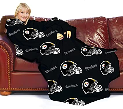 2fb70c368 Image Unavailable. Image not available for. Color  Pittsburgh Steelers  Adult Comfy Throw ...