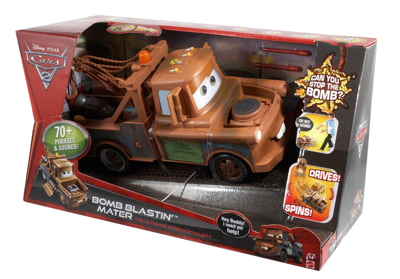 Amazon.com: Cars 2 Bomb Blastin\' Mater: Toys & Games
