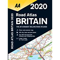 AA Road Atlas Britain 2020