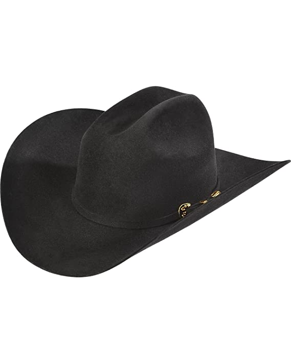 3d8918c98b5c1 Amazon.com  Serratelli Men s 6X Fur Felt Latigo Cowboy Hat - 106Mkupdark   Clothing