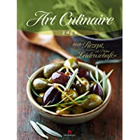 Art Culinaire 2020, Wandkalender mit Zitaten im Hochformat (50x66 cm) - Lifestyle-Kalender für Küche und kulinarische Gourmets mit Monatskalendarium