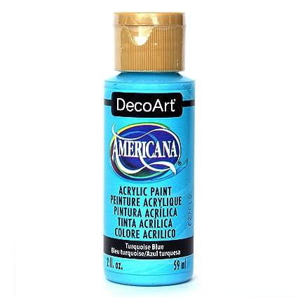 Deco Art Americana Peinture Acrylique Multi Usages, Bleu Turquoise