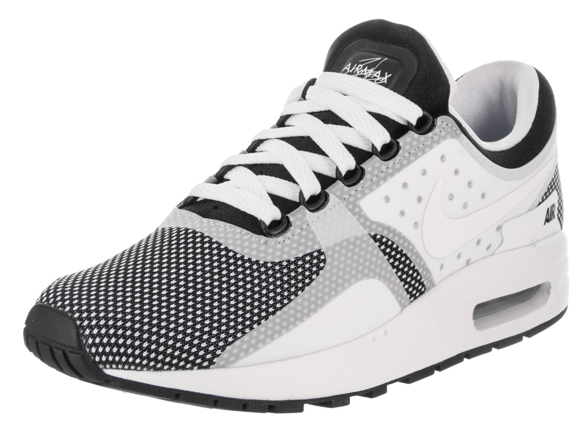 Nike  Air Max Zero Essential GS Running Shoe B06WGSJXXL 6 M US Big Kid|Black / White-wolf Grey