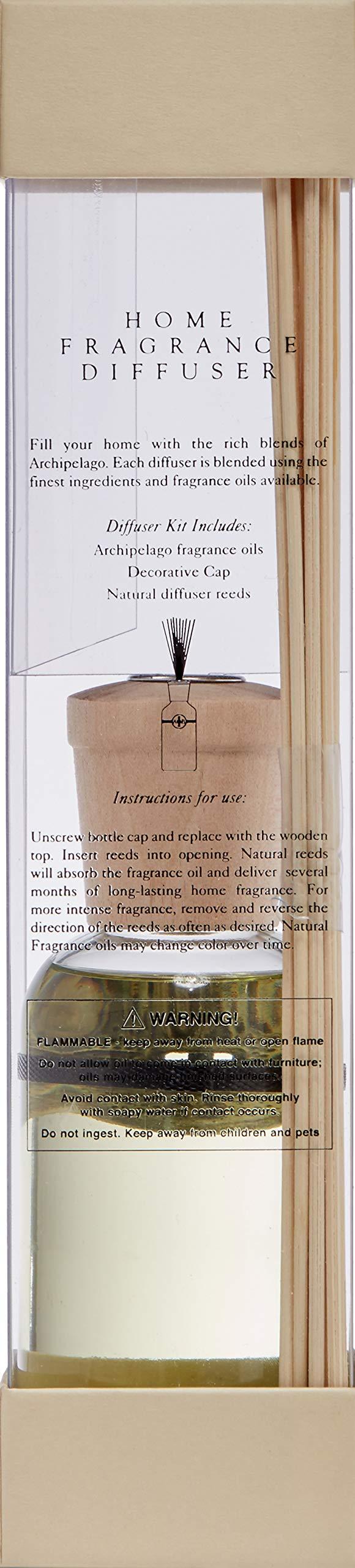Archipelago Reed Diffuser, Yuzu Bergamot, 7.85 oz. by Archipelago Botanicals (Image #2)