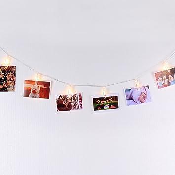 Led Lichterkette Zum Aufhangen Von Fotos Bildern Karten Und