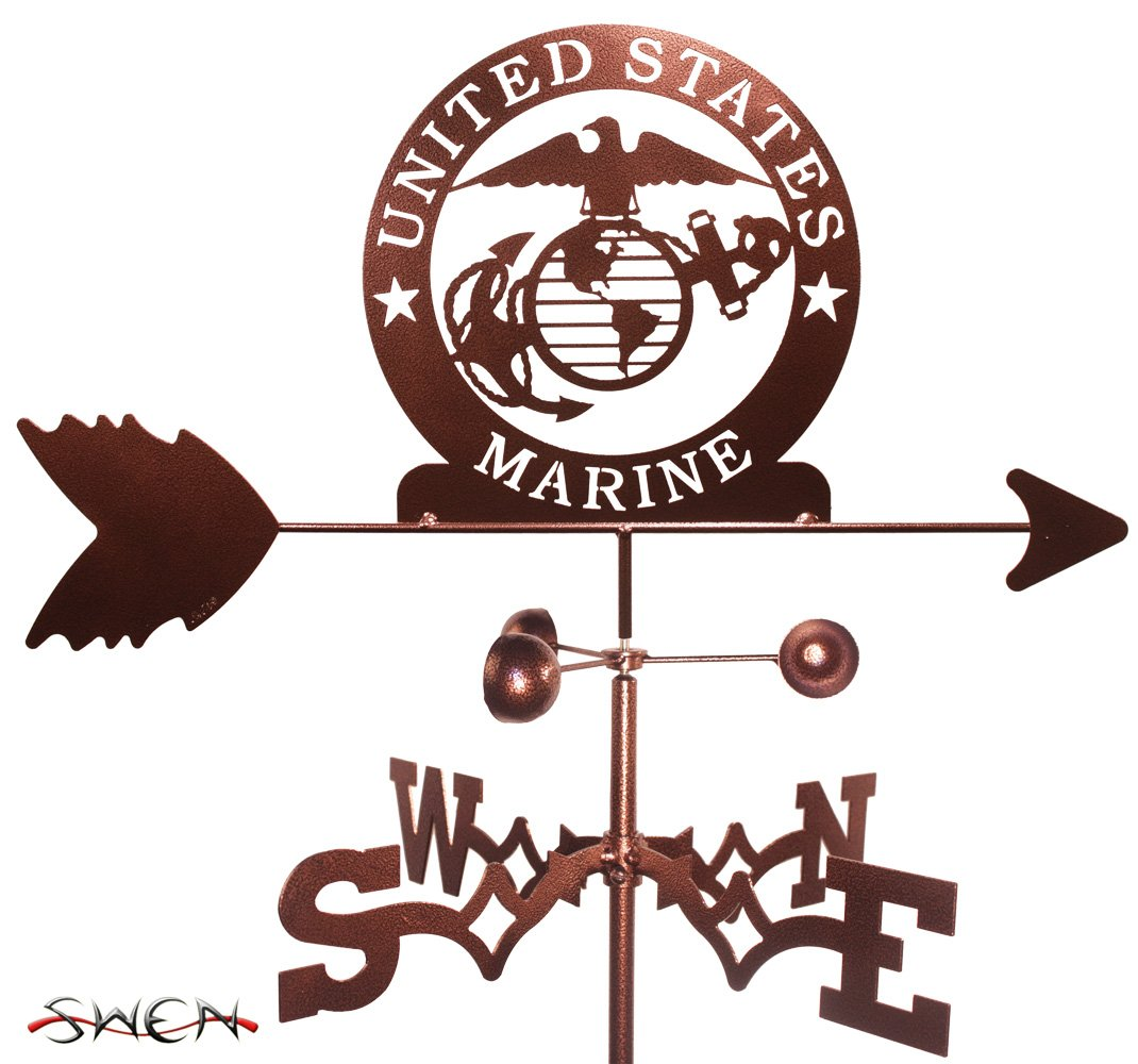 Amazon armed services us marines marine corp usmc garden amazon armed services us marines marine corp usmc garden stake weathervane garden outdoor magicingreecefo Choice Image