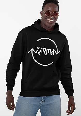 pullover hoodie Karma design