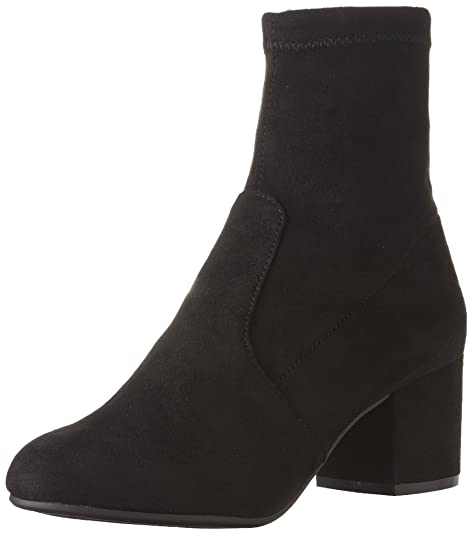 68e87255a5a Steve Madden Women's IRVEN Ankle Boot, Black, 6.5 M US: Amazon.ca ...