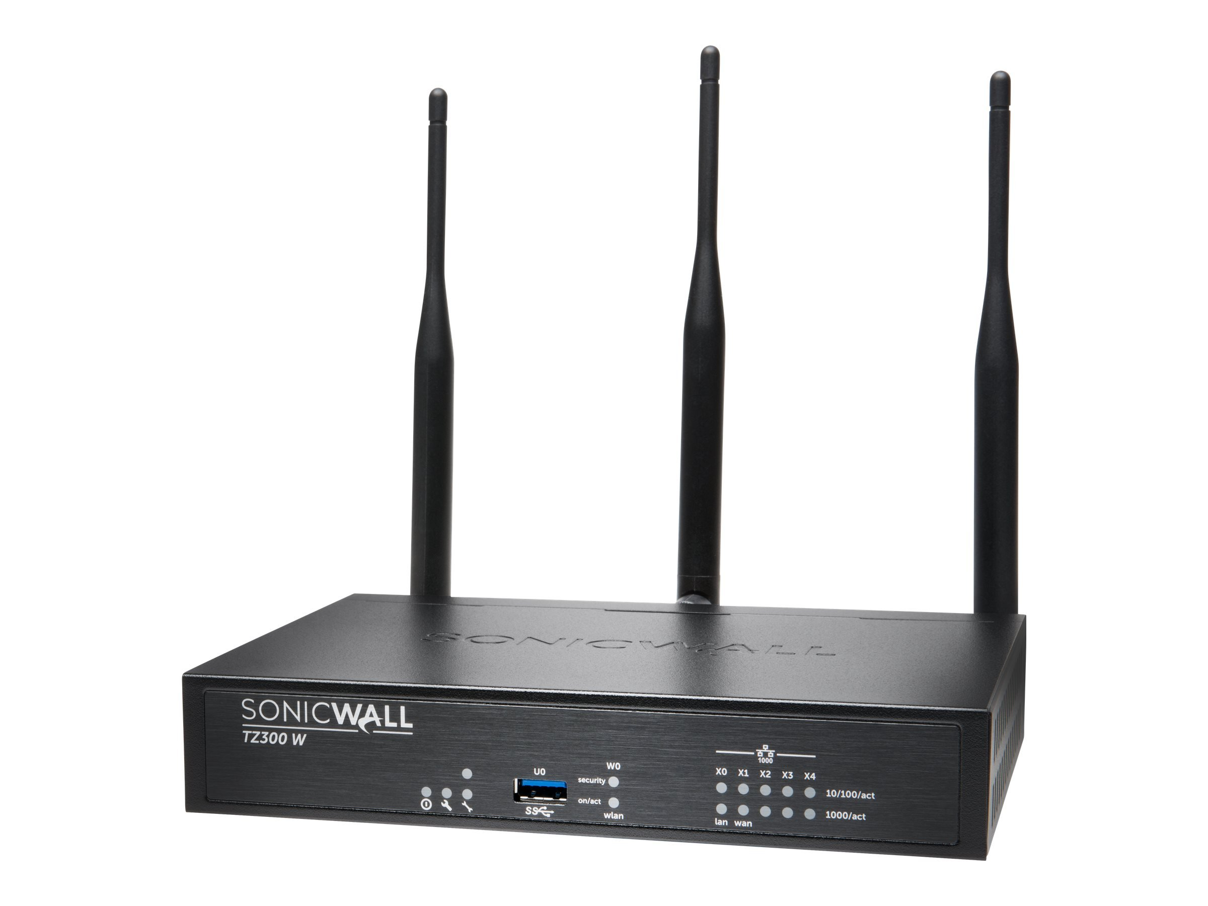 Dell Sonicwall 01-SSC-0216 TZ300 Wireless-AC Security Appliance 5 Ports 10MB/100MB LAN, Gige 802.11 B/A/G/n/AC