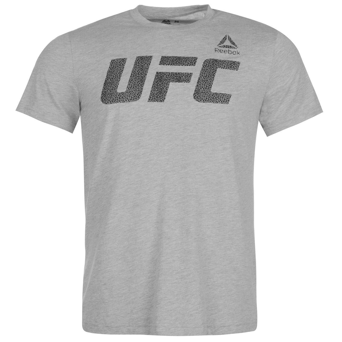 Reebok Herren UFC UFC UFC Fg Logo Tee Hemd 6c78e3