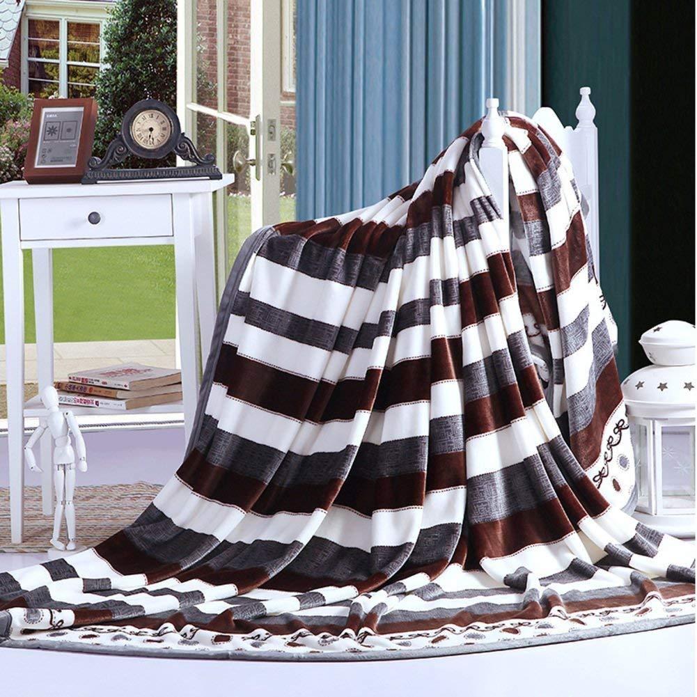 Mabmeiyang 冬の厚い毛布、暖かい単一の二重タオルのキルト毛布を並べるベッド (Color : 200x230cm(79x91inch), サイズ : N) B07S4K9T1Z 200x230cm(79x91inch) N
