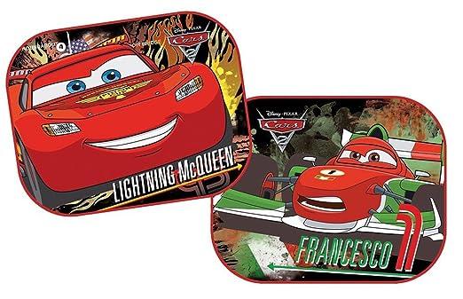 2 opinioni per Disney Cars- Parasole pieghevole per auto, confezione da 2