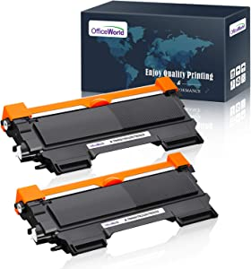 Office World Compatible Toner Cartridge Replacement for Brother TN450 TN-450 TN 450 TN420 TN-420,Compatible with Brother HL-2270DW HL-2280DW HL-2230 HL-2240D HL-2240 MFC-7860DW MFC-7360N MFC-7460D