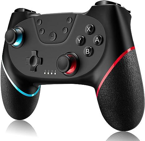 Gamory Mando para Nintendo Switch Mando Pro Controller Mando pc ...