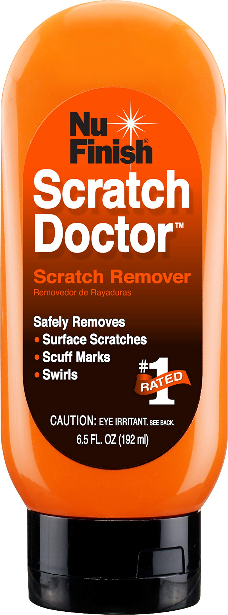 Nu Finish Car Scratch Remover, Scratch Removal for Cars - Perfect for Removing Paint Scrapes, Scuffs, Haze and Swirl Marks on Cars, Fiberglass Boats, Motorcycles and Chrome Appliances (1 Pack)
