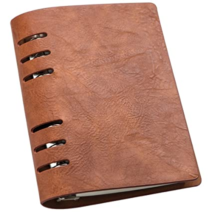 Cuaderno de anillas, bloc de notas con anillas, hojas en ...