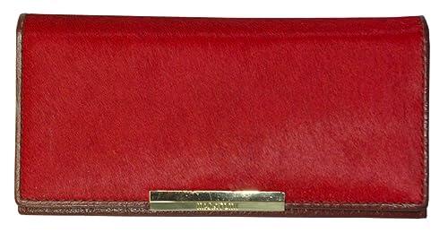 Monedero Cartera Billetera Piel Vaca Cuero Estampado Rojo Leather Wallet Geldbörse aus Leder Porte-monnaie en Cuir Portafoglio: Amazon.es: Zapatos y ...
